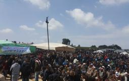 غزة ترسم صورة في الوحدة والتحدي والتمسك بالثوابت