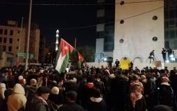 مظاهرات الاردن رفضا لاتفاقية الغاز