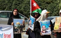 أهالي أسرى أردنيين في سجون الاحتلال