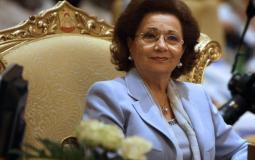 حقيقة وفاة سوزان مبارك بعد تدهور حالتها الصحية