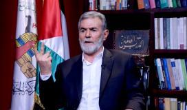 الامين العام لحركة الجـهاد الاسلامي زياد النخالة