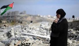 الاحتلال يفكك 8 مساكن بدوية في مدينة القدس المحتلة
