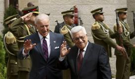 عباس و بايدن.