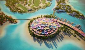 تصاميم مشروع كورال بلوم السعودي في البحر الأحمر