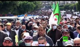 آلاف المتظاهرين يحتشدون في شوارع العاصمة الجزائرية ...