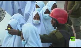الإفراج عن مئات التلميذات المختطفات في نيجيريا ...