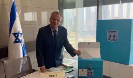 """دبلوماسيون """"إسرائيليون"""" يدلون بأصواتهم في الامارات والمغرب قبيل الانتخابات """"الاسرائيلية"""" الرابعة"""