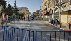 قوات الاحتلال تمنع سكان الضفة من دخول مدينة القدس