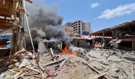 دمار كبير جراء قصف الاحتلال لغزة.jpg