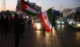 ايران و فلسطين.