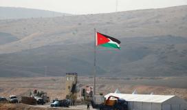 الحدود الاردنية الفلسطينية