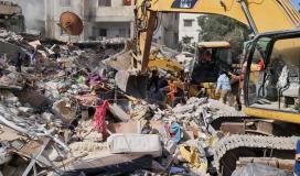 ارشيفية من العدوان على غزة مايو 2021