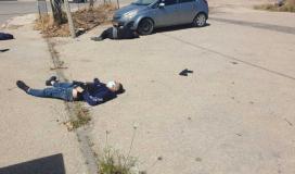 إصابة ثلاثة شبان برصاص قوات الاحتلال قرب موقع سالم العسكري شمال الضفة الغربية