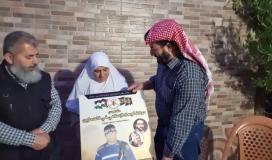 وفد من الجهاد يزور عائلة الاستشهادي حمزة سمودي