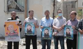 مهجة القدس تنظم وقفة دعم وإسناد مع الأسرى المضربين عن الطعام (5).jpeg