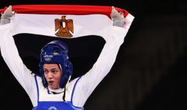 مصر تحرز أول ميدالية في أولمبياد طوكيو