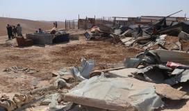 للمرة الـ191.. قوات الاحتلال يهدم قرية العراقيب
