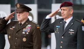 تفاصيل لقاء رئيس أركان الاحتلال أفيف كوخافي مع جنرال امريكي