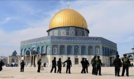 شرطة الاحتلال بالمسجد الأقصى