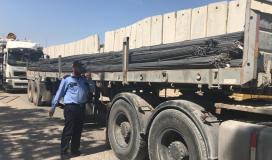 السلطات المصرية توافق على إدخال كافة أنواع الحديد لقطاع غزة