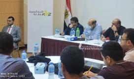 وفد هندسي مصري يجتمع مع وزارة الأشغال العامة واتحاد المقاولين في غزة