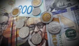 اسعار صرف الدولار والعملات مقابل الشيقل اليوم الاحد 18-4-2021