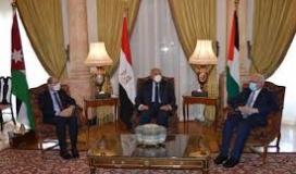 وزراء خارجية الاردن والسلطة ومصر