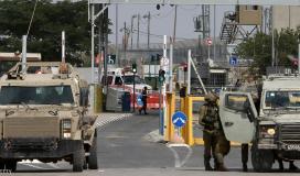 حاجز إسرائيلي في الضفة المحتلة