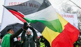 الفلسطينيون في بلجيكا