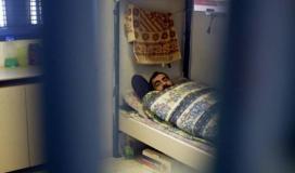 اسير فلسطيني داخل سجون الاحتلال (ارشيف)