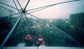 زخات من المطر