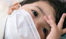 اطفال مصابين بكورونا