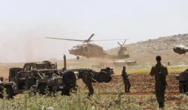 تدريبات عسكرية اسرائيلية