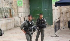 عناصر الشرطة تقتحم المسجد الأقصى