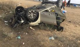 وفاة مواطن بحادث سير ذاتي شرق طوباس