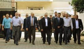 وفد المخابرات المصرية وقيادة حركة حماس