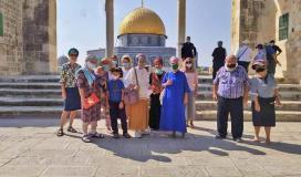 مستوطنون يقتحون باحات المسجد الاقصى
