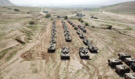 دبابات جيش الاحتلال الإسرائيلي