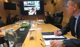 اجتماع حكومة اسرائيل