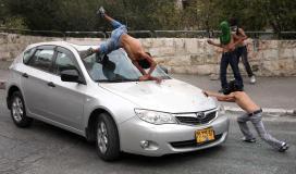 """إصابة مواطن بعد دهسه بواسطة """"إسرائيلية"""" عمدًا في بيت لحم"""
