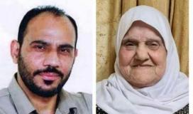 والدة الاسير رجب الطحان