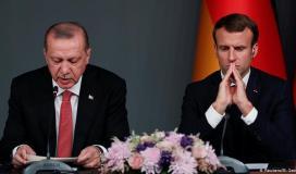 اردوغان ماكرون