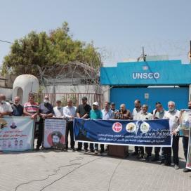 بالصور:مهجة القدس تنظم وقفة دعم وإسناد مع الأسرى المضربين عن الطعام