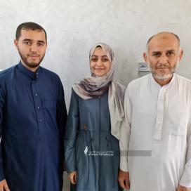 بالصور:الطالبة الأولى على الوطن من خانيونس القسم العلمي آلاء زاهر إسماعيل احمد