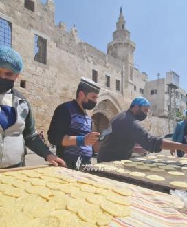 صاحب أقدم محل للقطايف منذ عام 1972 في خانيونس جنوب قطاع غزة
