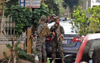 قتلى وجرحى في اشتباكات مسلحة في مدينة الطيونة اللبنانية