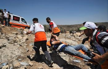 إصابات إثر اعتداء قوات الاحتلال على المواطنين في بيتا شمال الضفة المحتلة