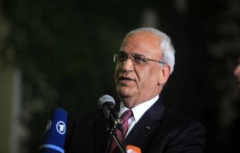 الدكتور صائب عريقات مسؤول دائرة المفاوضات في منظمة التحرير
