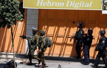 جنود الاحتلال في الخليل