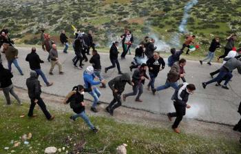 مواجهات طوباس مع قوات الاحتلال